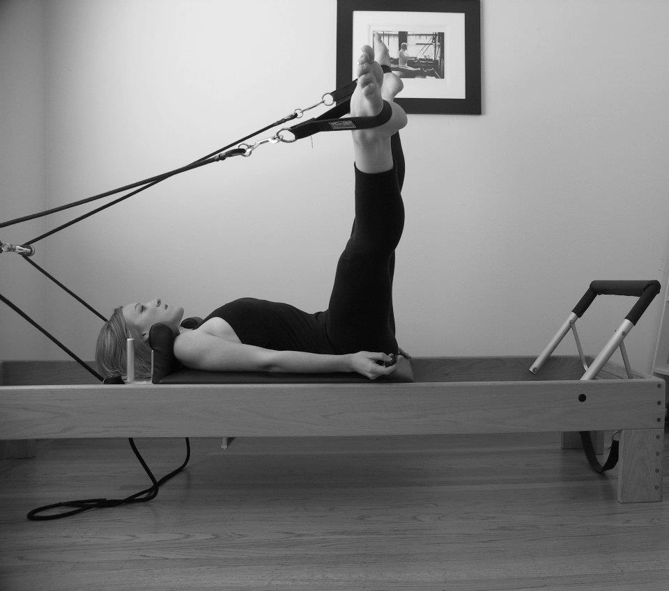 In home Pilates training