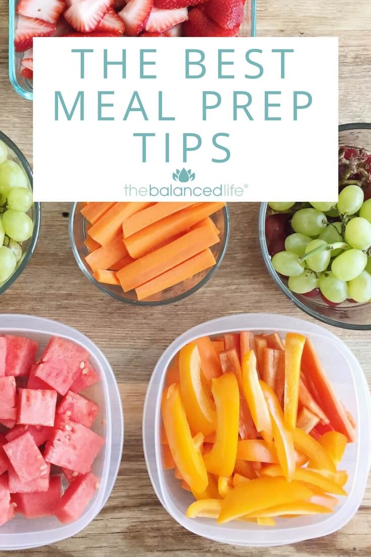 The Best Meal Prep Tips from The Balanced Life Team